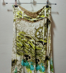 Šarena letnja suknja, zanimljivih boja!