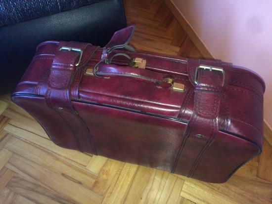 Vintage kao kozni kofer