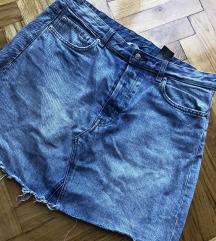 H&m suknja teksas kao nova