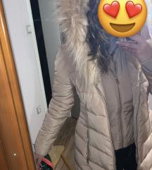 Guess roze/bez jakna