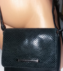 NOVA mala crna poštarska torbica