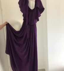 Raskošna satenska haljina