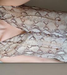 Zmijski animal print H&M bluza