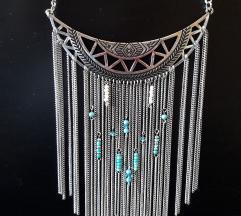 Boho ogrlica, nova