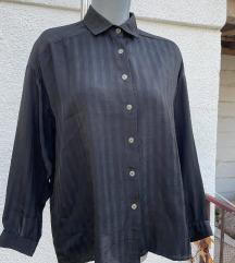 Vintage crna košulja L/XL