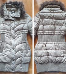 SISLEY - fazonska jakna duga za DEVOJCICE 8-9