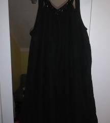 Crna balon haljina