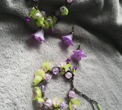 Purple Flowers Set