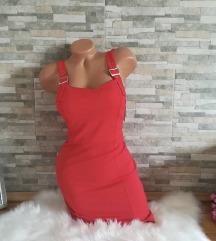 *** Mini crvena haljina NOVO SA ETIKETOM***