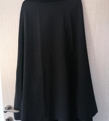 Crna suknja A kroja
