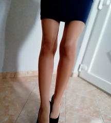 Jesenja suknja h&m, teget 👑rasprodaja