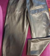 Zara kozne pantalone M