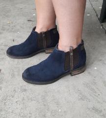 SANSIBAR 1978 kozne duboke cipele NOVE