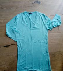Tirkizna nova majica 3/4 rukava