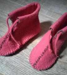 Originalne nehodajuce cipelice od filca 0-4 meseca