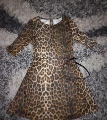 NEW LOOK animal skater haljina NOVO