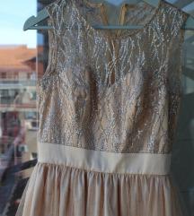zlatna haljina mini