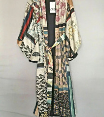 Zara patchwork kimono