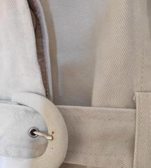 MANGO teksas mantil =boja slonove kosti