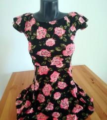Cvetna skater haljina