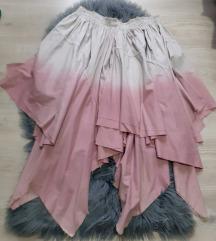 Zanimljiva suknja iz vise slojeva u spicevima