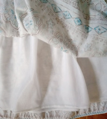 Slatka  suknja sa postavom nizi struk xs (xxs)