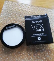 vfx pro camera ready transparent compact powder