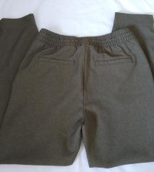 H&M maslinaste pantalone