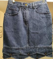 Moschino teksas suknja