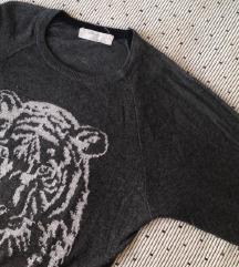 Zara knit džemper haljina
