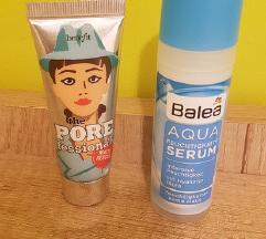 Benefit the pore fessional + Balea serum snizeno