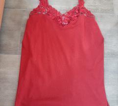 Prelepa crvena majica, pamuk, M