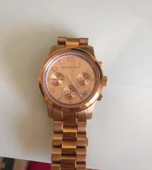 Michael Kors original rose gold sat