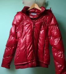 KAO NOVA crvena jakna vel.M par puta nosena AKCIJA