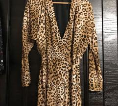 Zara animal print haljina kombinezon