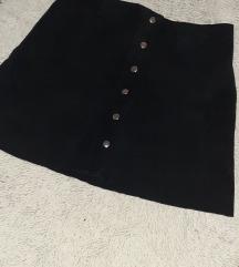 Zara kozna suknja PRAVA KOZA DANAS 1000