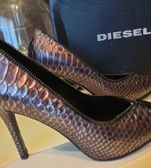 BRUTALNE DIESEL cipele na štiklu
