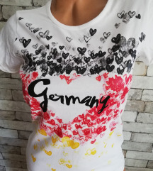 LOVE GERMANY MAJICA SA PRINTOM VEL. XS