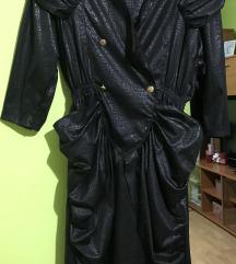 Vintage crna haljina