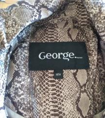 Nov mantil jakna, animal print, M