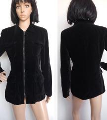 Vintage plisana jaknica