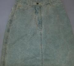 Vintage teksas suknjica
