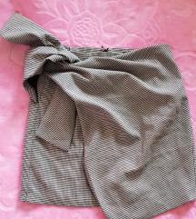 Mini suknja na preklop