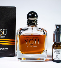 Armani Stronger With You Intense - Dekant 5/10ml