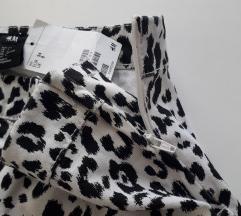H&M nove pantalone leopard print sa etiketom