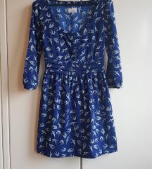 Rezz Pin up U.K. haljina na ptičice