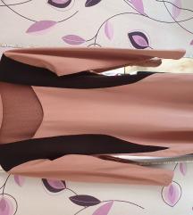 Haljina roze dugi rukav