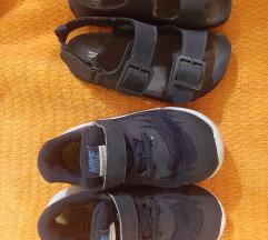 HM sandalice+Nike patikice 25