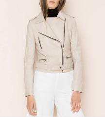 %%%% Uterque - kožna jakna u nude boji