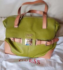 %%10900-Guess Luxe kožna torba, original